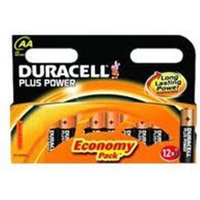 Duracell Plus Power AA 12 Pack.