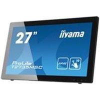iiyama ProLite T2735MSC-B2 27 1920x1080 5ms VGA DVI HDMI Tou