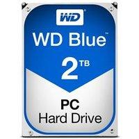 WD Blue 2TB Desktop Hard Disk Drive - 5400RPM SATA 6 Gb/s 64MB Cache 3.5 Inch - WD20EZRZ