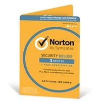 Norton Security Deluxe 3.0 - 1 User 3 Devices 1 Year Card