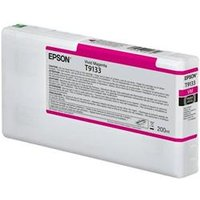 Epson T9133 - 200 ml - vivid magenta - original - ink cart