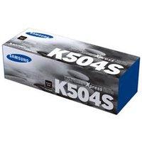 Samsung CLT-K504S Black Original Toner Cartridge.