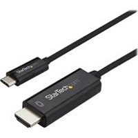 StarTech.com 1m USB C to HDMI Cable - Black.