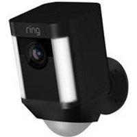 Ring Spotlight Cam Battery Security Camera - Black
