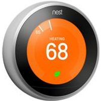 Nest Learning Thermostat   Steel