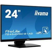 iiyama ProLite T2454MSC-B1AG 23.8 1920x1080 5ms VGA HDMI Touchscreen LED Monitor