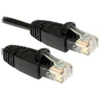 Cables Direct Snagless Patch Cable 1m - Black
