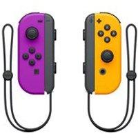 Nintendo Joy-Con Pair - Neon Purple/Neon Orange.