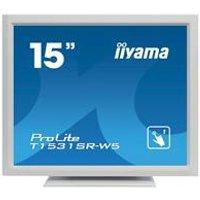 iiyama ProLite T1531SR-W5 15 1024x768 8ms VGA HDMI DisplayPort Touchscreen LED Monitor