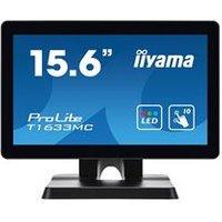 iiyama ProLite T1633MC-B1 15.6 1366x768 8ms VGA HDMI DisplayPort Touchscreen LED Monitor