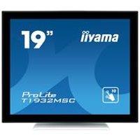 iiyama ProLite T1932MSC-W5AG 19 1280x1024 14ms VGA HDMI DisplayPort Touchscreen IPS LED Monitor