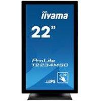 iiyama ProLite T2234MSC-B6X 22 1920x1080 8ms VGA HDMI