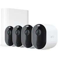 Arlo Pro 3 2K QHD Wire-Free 4-Camera Security System.