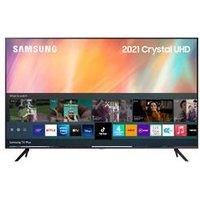 Samsung 43 AU7100 (2021) 4K Ultra HD HDR Smart TV.