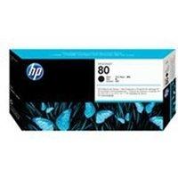 HP 80 Black Printhead and Printhead Cleaner.