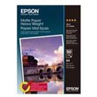 Epson Matte Paper Heavyweight A4 50 sheets.