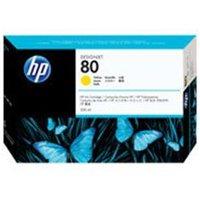 HP 80 350-ml Yellow Ink Cartridge.