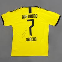 Authentic-Trikot Sancho sign.