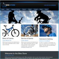 Fahrradgeschäft (Web-Vorlage) (PC) (Download)