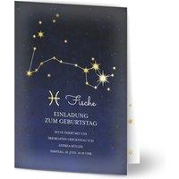 Einladungskarten Geburtstag, seidenmattes feinstpapier, standard umschläge, goldfolie gestalten, Fotokarte (1 Foto), 30, A6, klappkarte, Optimalprint
