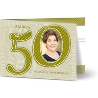 Einladungskarten Geburtstag, glänzendes feinstpapier, standard umschläge gestalten, Fotokarte (1 Foto), A6, klappkarte, Optimalprint