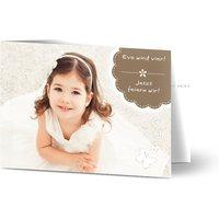 Einladungskarten Geburtstag, glänzendes feinstpapier, standard umschläge gestalten, Fotokarte (1 Foto), Tier, A6, klappkarte, Optimalprint