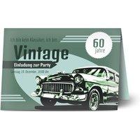 Einladungskarten Geburtstag, glänzendes feinstpapier, standard umschläge gestalten, Fotokarte (1 Foto), 60, A5, klappkarte, Optimalprint