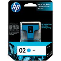 HP 02 Cyan Original Ink Cartridge