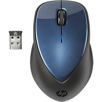 HP x4000 Wireless Mouse (Winter Blue) with Laser Sensor|H1D34AA#ABA