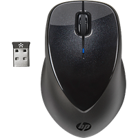 HP x4000 Wireless Mouse with Laser Sensor|A0X35AA#ABA