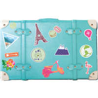 HP Moment Makers 2 x 3-in Suitcase Mini Album, 6RW41A