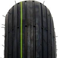 Veloce V5501 Rille SET ( 4.00 -4 4PR TT NHS, SET - Reifen mit Schlauch, schwarz )