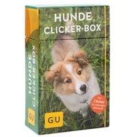 Hunde Clicker-Box, Begleitheft, 36 Lernkarten, 1 Clicker