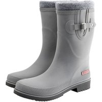 DOGGO Damen Stiefel Lotte Winter grau, Gr. 37