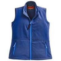 OWNEY Damen Softshellweste Basic Vest blau, Gr. XL