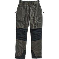 Pinewood® Damen Trekkinghose Himalaya Extrem dunkelgrün-schwarz, Gr. 40