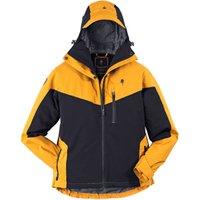 Pinewood® Damenjacke Finnveden Hybrid Extreme schwarz-gelb, Gr. M