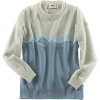 Fjällräven Damen Pullover Greenland Re-Wool View Sweater W grau-blau, Gr. L