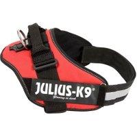 Julius-K9® Hundegeschirr Power IDC rot, Breite: ca. 50 mm, Bauchumfang: ca. ab 110 cm
