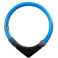 alsa-brand Sicherheitsband für Hunde Brightness blau, Halsumfang: ca. 50 cm