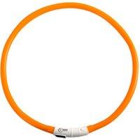 Sicherheitsband für Hunde See me orange, Maße: ca. 20 - 75 cm