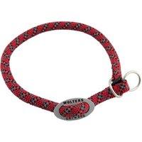 Hunde-Halsband Everest rot-schwarz, Breite: ca. 9 mm, Halsumfang: ca. 40 cm