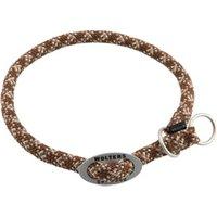 Hunde-Halsband Everest braun-beige, Breite: ca. 9 mm, Halsumfang: ca. 35 cm