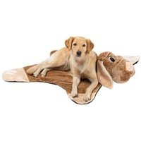 Hundekuscheldecke Friends beige, Maße: ca. 100 x 100 cm
