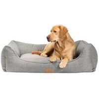 alsa-brand Hundebett Rom grau, Außenmaße: ca. 120 x 97 x 30 cm