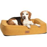 alsa-brand Hundebett Ortho Lounge ocker, Außenmaße: ca. 80 x 60 cm