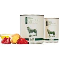 alsa-nature SINGLE Pferd mit Kartoffel Nassfutter, Anzahl: 6 x 400 g, 400 g, Hundefutter nass
