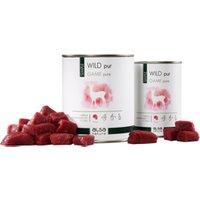 alsa-nature SIMPLE Wild pur Nassfutter, Anzahl: 6 x 400 g, 400 g, Hundefutter nass