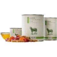 alsa-nature Lamm mit Vollkornnudel und Karotte Nassfutter, Anzahl: 12 x 400 g, 400 g, Hundefutter nass