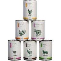 alsa-nature Classic Dosen-Menü-Mix Nassfutter, Anzahl: 90 x 400 g, 400 g, Hundefutter nass